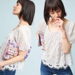 NEW Anthropologie Moulinette Soeurs Messina Top S
